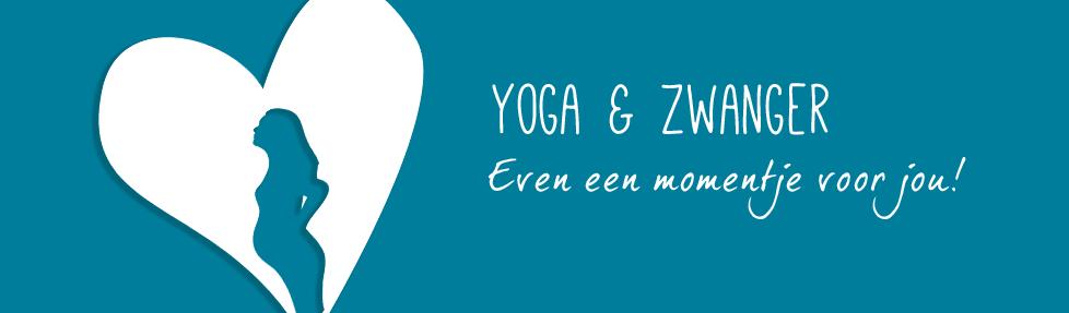 yoga & zwanger hart aan zee